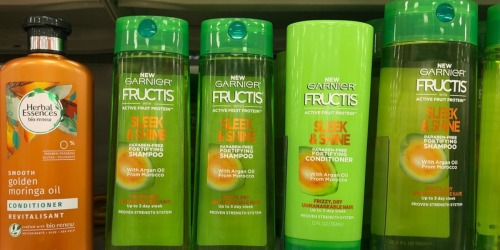 $4 Worth of New Garnier Coupons = Nice Deals on Hair & Skin Care at Walgreens & CVS