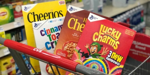 CVS: General Mills Cereals Only $1.49 (Cheerios, Cinnamon Toast Crunch + More) – Starting 1/7