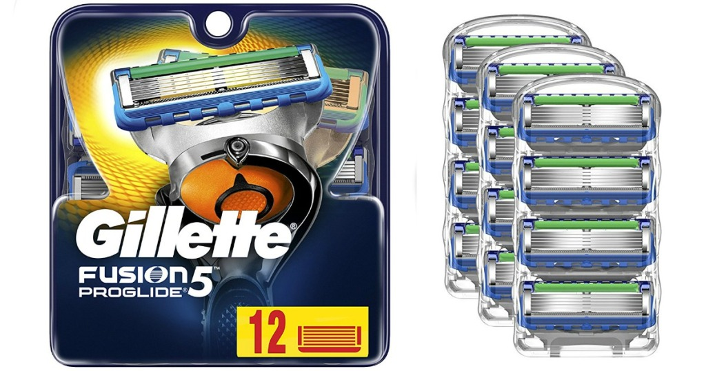 Gillette Fusion 5 12 pack refills