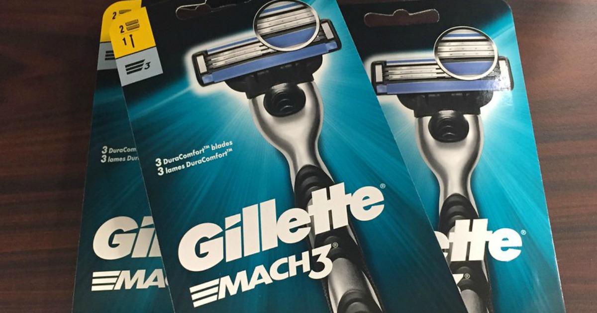 3-packs of Gillette Mach3 razors