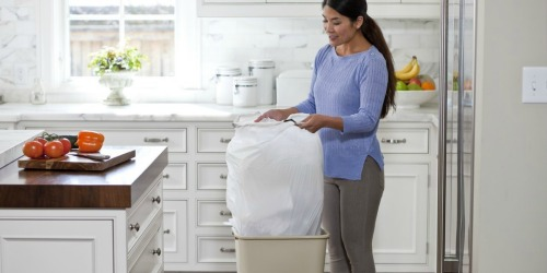 Staples: Glad ForceFlex 100-Count Kitchen Trash Bags Only $10.24