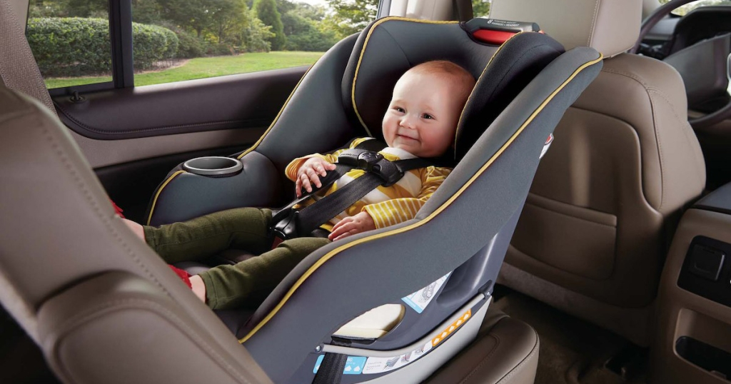 In The Market For A New Car Seat Head On Over To ToysRUs Where You Can Score Graco Contender 65 Convertible Brass Print Only 8499