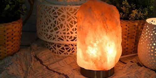Amazon: Himalayan Salt Lamp ONLY $17.99