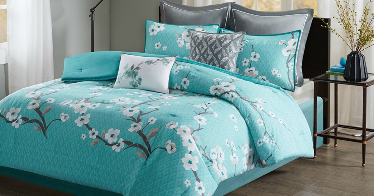Designer Living 7 Piece Comforter Sets As Low As 22 99