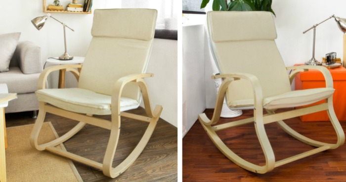 Terrific Rocking Chair Just 68 95 Shipped Ikea Knockoff Hip2Save Gmtry Best Dining Table And Chair Ideas Images Gmtryco