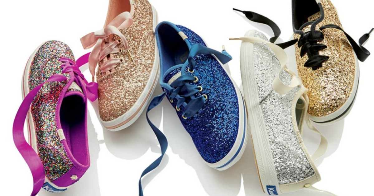 Keds Kate Spade Glitter Shoes Only $39