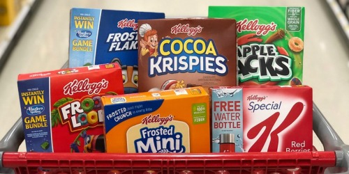 Kellogg's Family Rewards: Add 25 More Points (Text Offer)