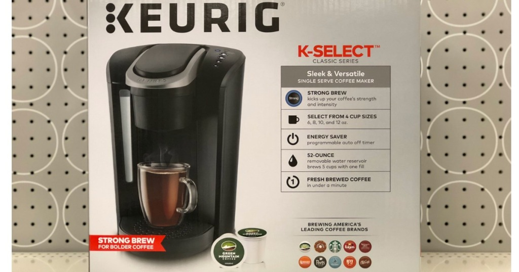 Targetcom Keurig K Select Coffee Maker Only 7999 Shipped After