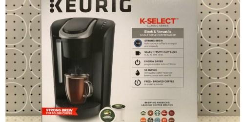 Keurig Single-Serve Coffee Maker Just $69.99 Shipped on BestBuy.com (Regularly $130)