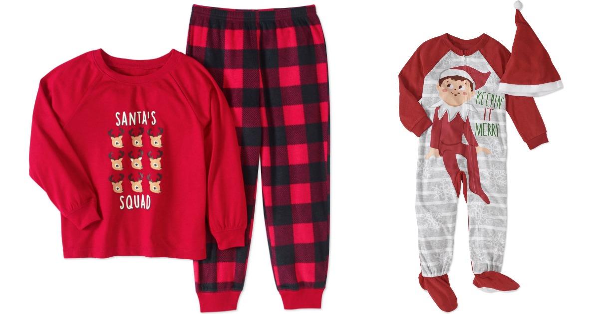 d96ad668 Baby & Toddler Unisex Buffalo Check 2 Piece Pajama Set Just $4 (regularly  $11.97)