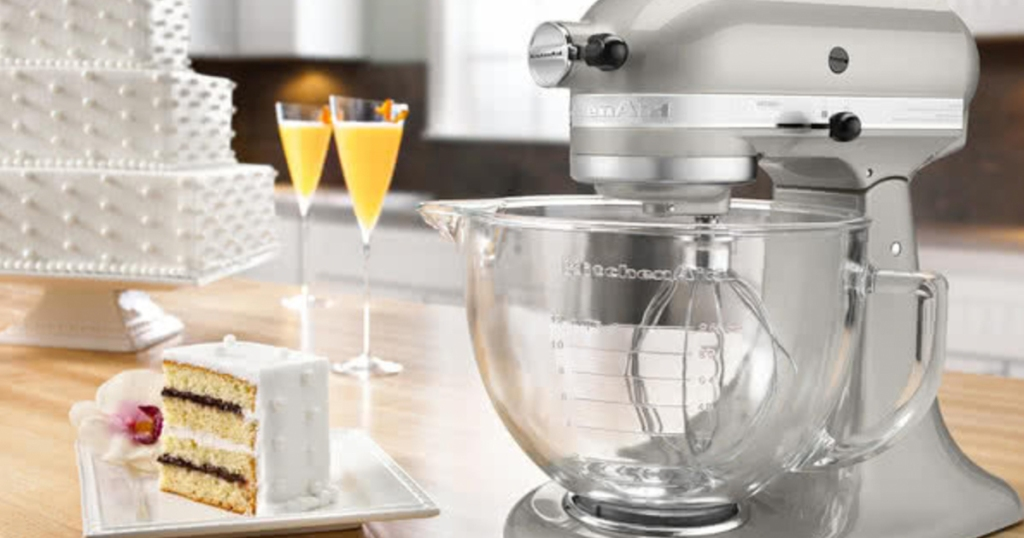 Macy S Kitchenaid 5 Quart Stand Mixer W Glass Bowl Only