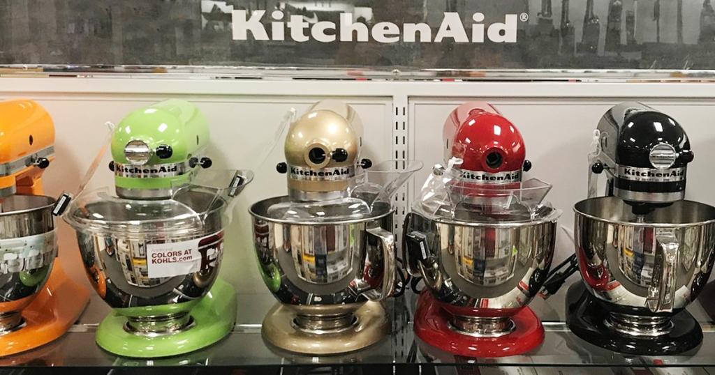 Stack Codes, Rebate & Kohl\'s Cash To Save BIG on KitchenAid ...