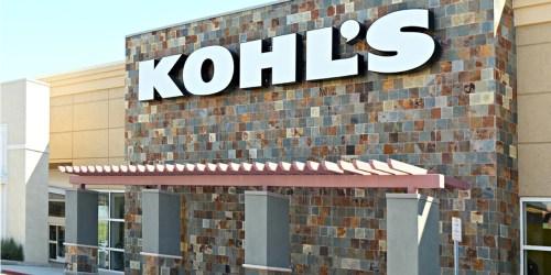 Kohl's Curbside Pick-Up Service Starts April 2