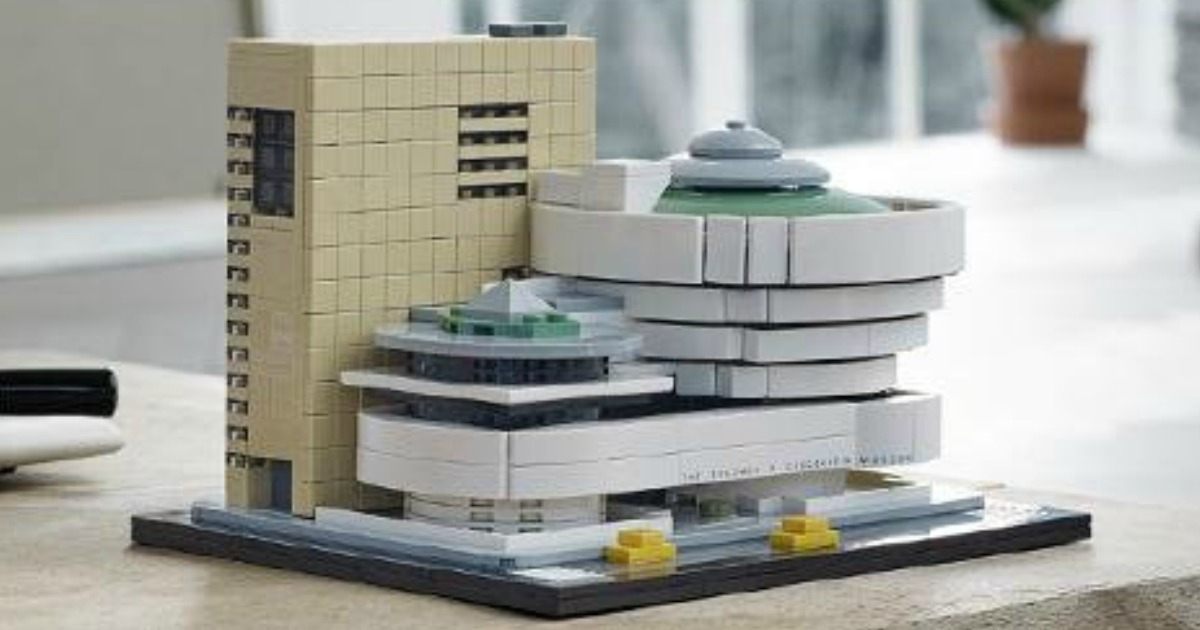 Amazon: LEGO Architecture Guggenheim Museum Kit Just $63 ...