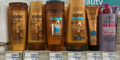 L'Oreal Elvive Shampoo & Conditioner Only $1.79 Each After Cash Back & CVS Rewards