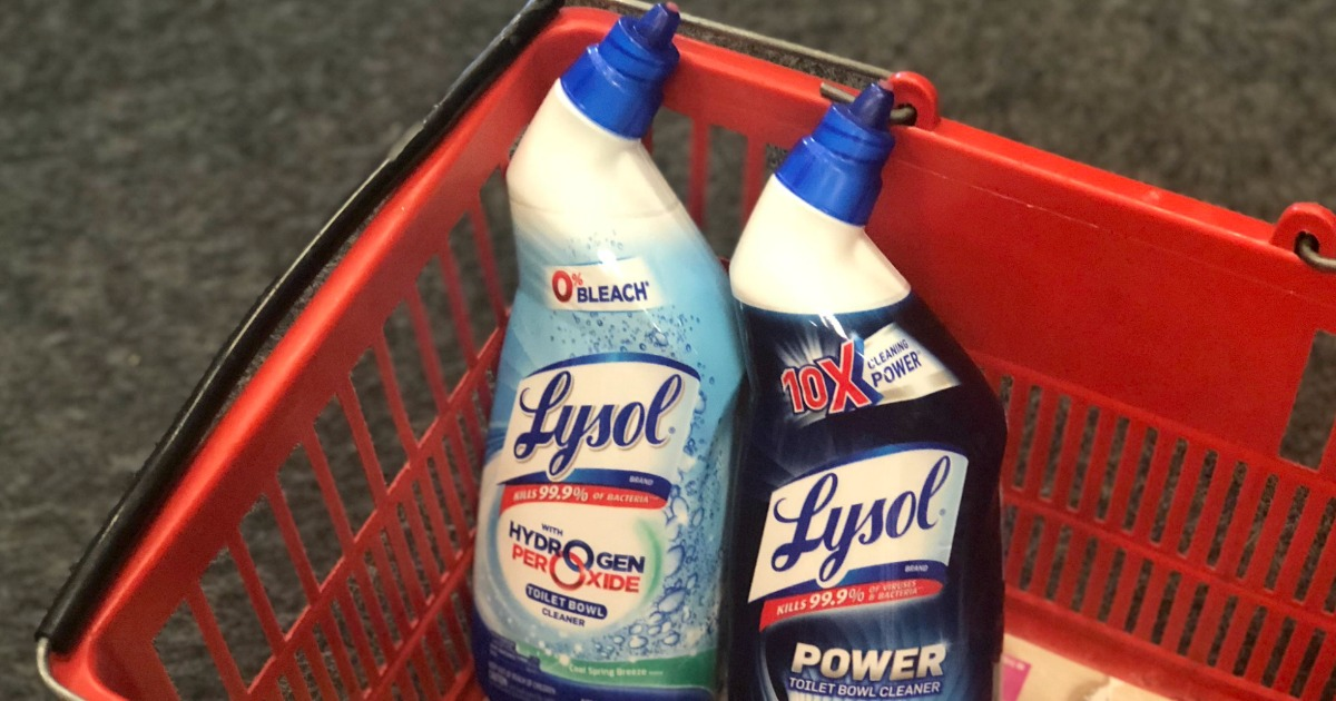 Three New Lysol Coupons Toilet Bowl Cleaner Just 1 15