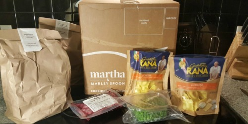 Almost $50 Worth of Martha & Marley Spoon Fresh Meals ONLY $18 Delivered