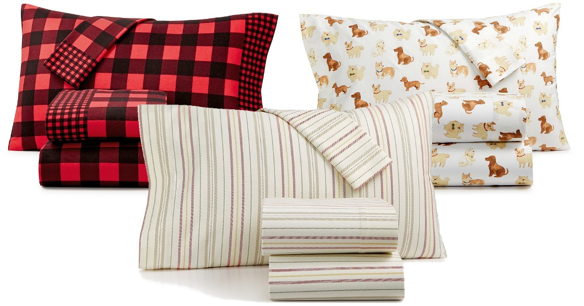 Macy S Martha Stewart 100 Cotton Flannel Sheet Sets As Low As 24 Regularly 60 Hip2save