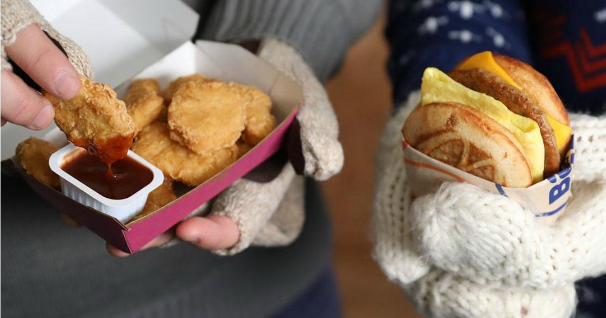 McDonaldschicken mcnuggets and mcgriddle