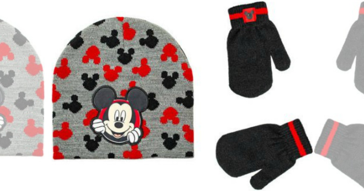 d750571a49a Disney Toddler Boy Hat And Mitten Sets Only  2.99 (Regularly  8) – Mickey  Mouse