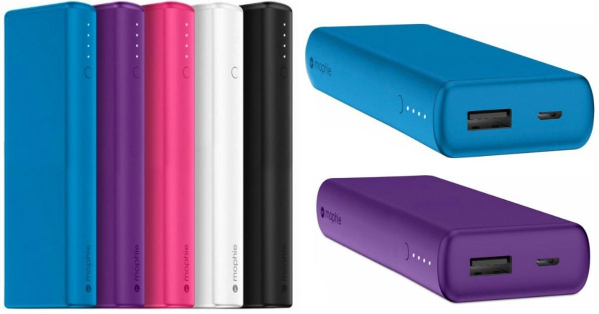 low priced 2a889 9b02d Best Buy: Mophie Power Boost Portable Chargers as Low as $14.99 ...