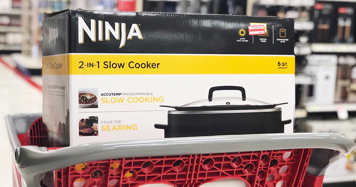 Ninja 2 In 1 Slow Cooker Possibly Only 26 98 At Target