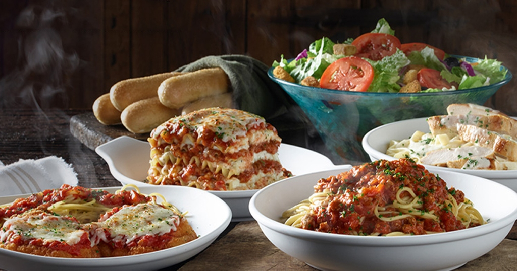 Olive garden never ending classics only unlimited - What kind of soup does olive garden have ...