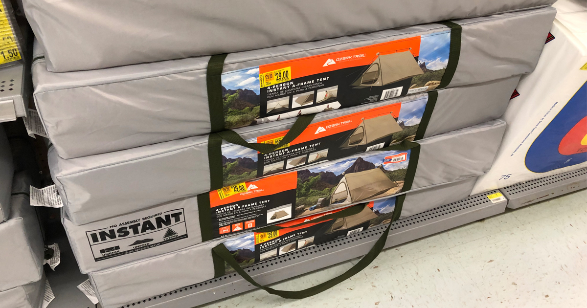 Walmart Clearance Finds Ozark Trail 4 Person Tent Only