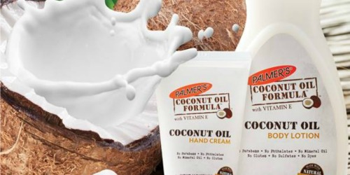 FREE Palmer's Coconut Oil Body Lotion Sample