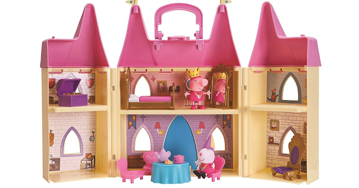 Amazon Peppa Pig Princess Castle Playset Only 17