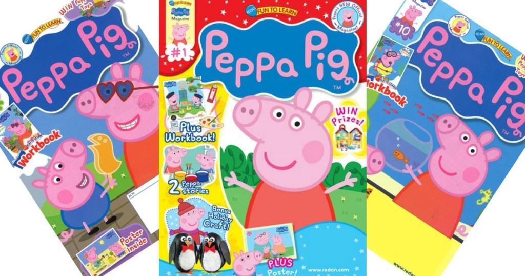 Peppa Pig Magazine Subscription Just 12 49 Hip2save
