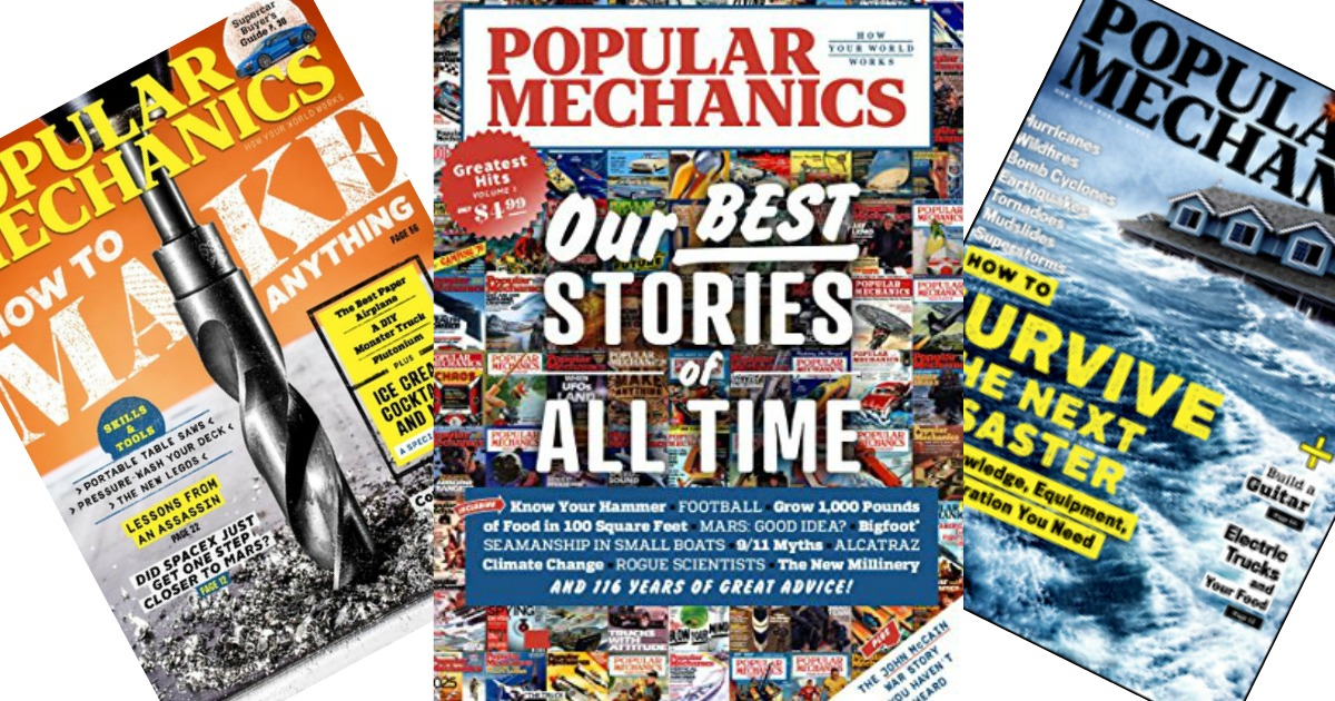 Popular Mechanics Sweepstakes >> FREE Popular Mechanics Magazine Subscription - Hip2Save
