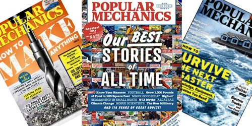 FREE Popular Mechanics Magazine Subscription