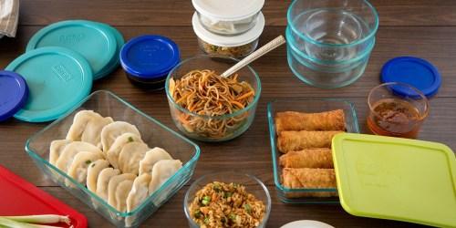 Pyrex Food Storage Set or Corningware Bakeware Set Just $19.99 After Macy's Rebate (Regularly $80)