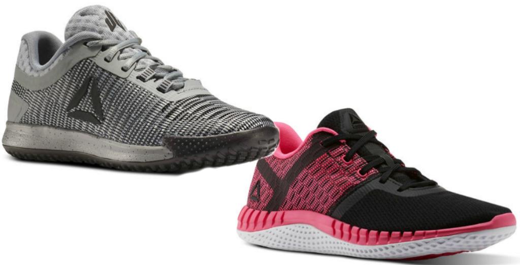 54cac2ae3b8 Buy Reebok Girls Print Run Next Shoes in Black Pink  70. Total    145. Use  the code NEWKICKS (Buy 1 Get 1 FREE)