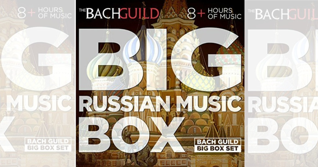 Amazon: The Big Russian Music Box MP3 Download ONLY 99¢ - Over 8