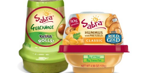 FREE Sabra Guacamole or Hummus Snacker Coupon