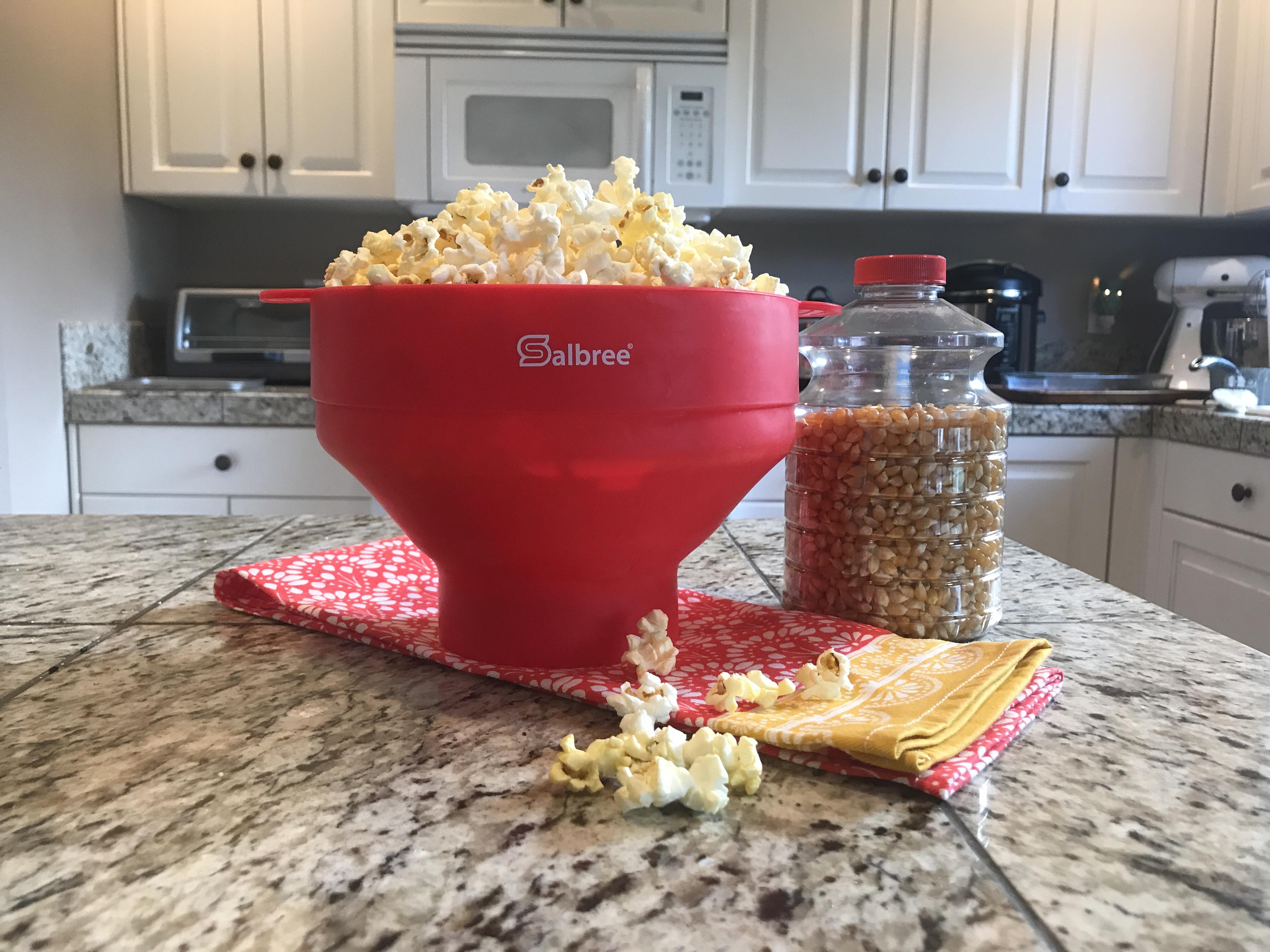 salbree silicone popcorn popper