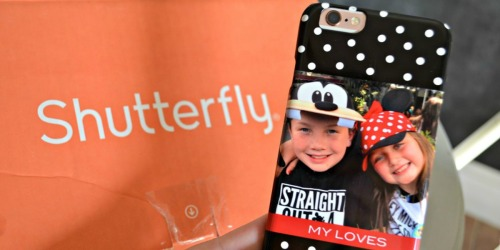 Custom Shutterfly iPhone Case Just $9.99 Shipped ($45 Value) & More Today Only Deals