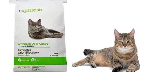 Petco.com: Advanced Odor Control Cat Litter 40-Pound Bag Just $6.99 Shipped (Regularly $13)