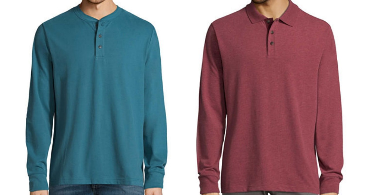 3895234070f6 JCPenney: St. John's Bay Men's Long Sleeve Shirts Only $6.74 - Hip2Save