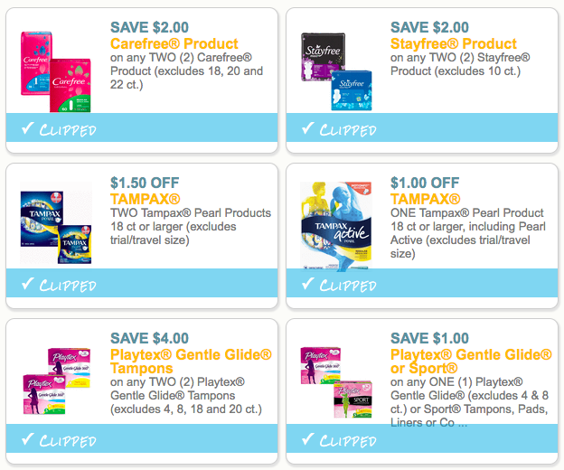 period products coupons