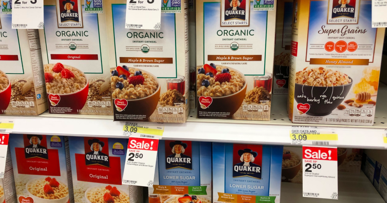 image about Quaker Printable Coupon titled Refreshing $1/2 Quaker Oats Coupon \u003d Decide on Styles Instantaneous