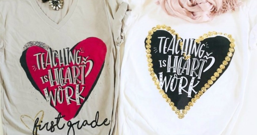 Super Cute Personalized Teacher Tees Only 13 99