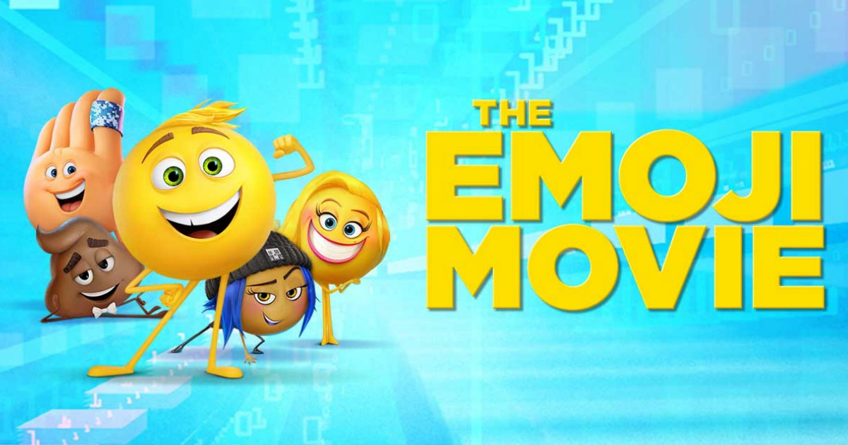 discounted kids summer movie offers – the Emoji movie still