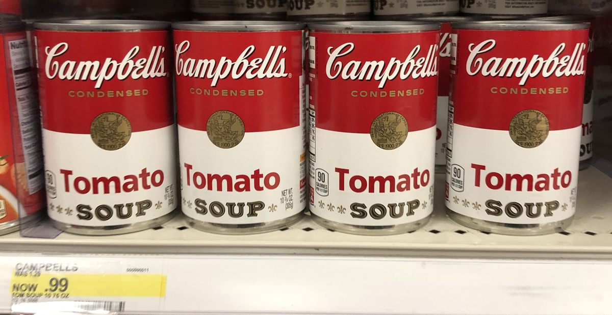 graphic relating to Campbell Soup Printable Coupon titled Unusual $5/10 Campbells Condensed Soup Coupon - Hip2Help save