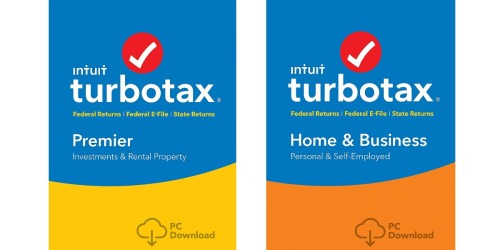 Amazon: TurboTax Premier 2017 Software AND Quicken Starter Edition 2018 Just $54.86 Shipped
