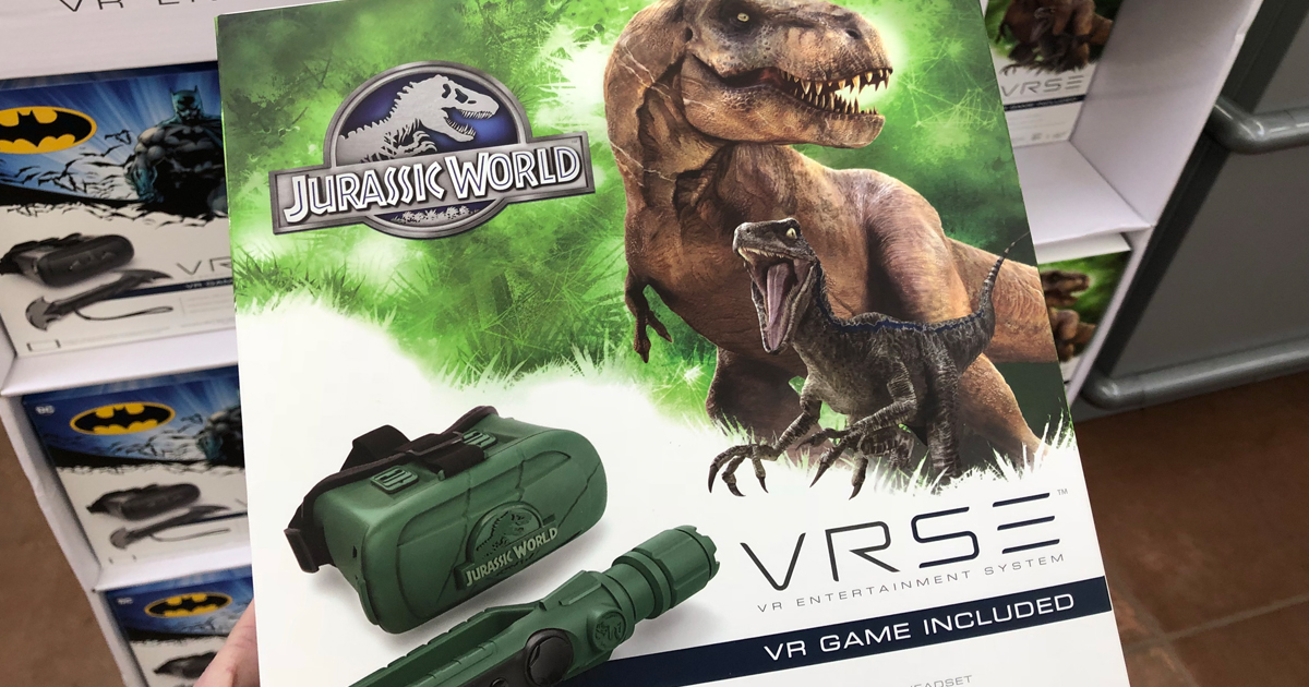 Jurassic World or Batman Virtual Reality Systems Possibly