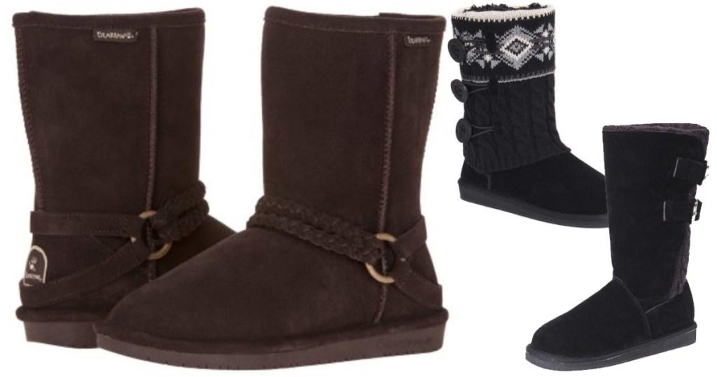 16b751d0aca Walmart.com  Bearpaw Women s Adele Boots Only  29 (Regularly  80 ...