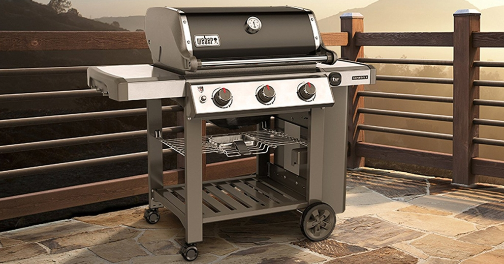 The Home Depot Weber Genesis Ii Natural Gas Grill Only 524